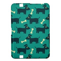 Happy Dogs Animals Pattern Kindle Fire HD 8.9