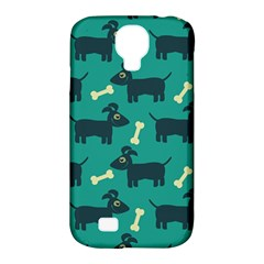 Happy Dogs Animals Pattern Samsung Galaxy S4 Classic Hardshell Case (pc+silicone)