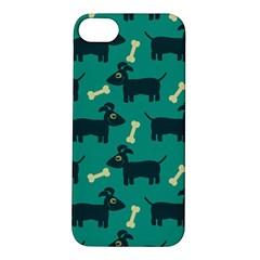 Happy Dogs Animals Pattern Apple iPhone 5S/ SE Hardshell Case