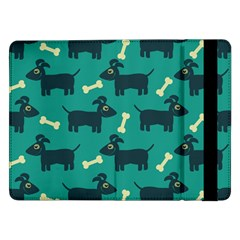 Happy Dogs Animals Pattern Samsung Galaxy Tab Pro 12.2  Flip Case