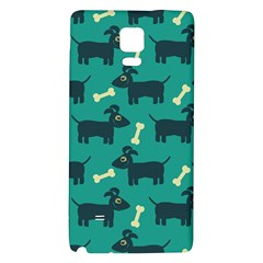 Happy Dogs Animals Pattern Galaxy Note 4 Back Case