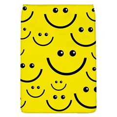 Digitally Created Yellow Happy Smile  Face Wallpaper Flap Covers (l)