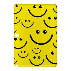 Digitally Created Yellow Happy Smile  Face Wallpaper Samsung Galaxy Tab Pro 12.2 Hardshell Case