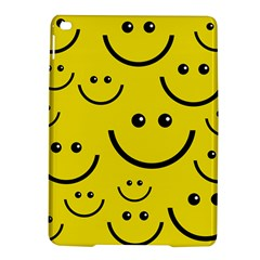 Digitally Created Yellow Happy Smile  Face Wallpaper iPad Air 2 Hardshell Cases
