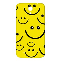 Digitally Created Yellow Happy Smile  Face Wallpaper Samsung Galaxy Mega I9200 Hardshell Back Case