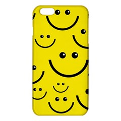 Digitally Created Yellow Happy Smile  Face Wallpaper iPhone 6 Plus/6S Plus TPU Case