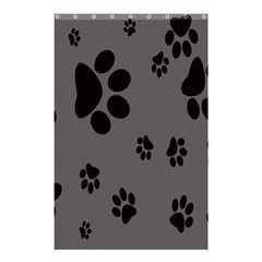 Dog Foodprint Paw Prints Seamless Background And Pattern Shower Curtain 48  X 72  (small)