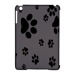 Dog Foodprint Paw Prints Seamless Background And Pattern Apple Ipad Mini Hardshell Case (compatible With Smart Cover)