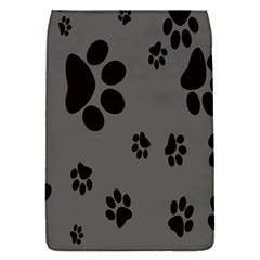 Dog Foodprint Paw Prints Seamless Background And Pattern Flap Covers (s)