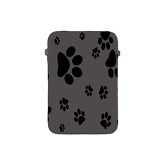 Dog Foodprint Paw Prints Seamless Background And Pattern Apple Ipad Mini Protective Soft Cases