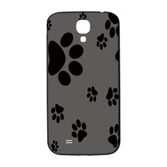 Dog Foodprint Paw Prints Seamless Background And Pattern Samsung Galaxy S4 I9500/i9505  Hardshell Back Case