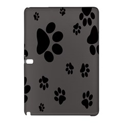 Dog Foodprint Paw Prints Seamless Background And Pattern Samsung Galaxy Tab Pro 10.1 Hardshell Case