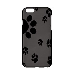 Dog Foodprint Paw Prints Seamless Background And Pattern Apple Iphone 6/6s Hardshell Case
