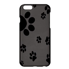 Dog Foodprint Paw Prints Seamless Background And Pattern Apple iPhone 6 Plus/6S Plus Hardshell Case