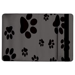 Dog Foodprint Paw Prints Seamless Background And Pattern Ipad Air 2 Flip