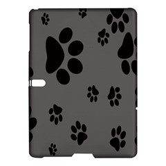 Dog Foodprint Paw Prints Seamless Background And Pattern Samsung Galaxy Tab S (10.5 ) Hardshell Case