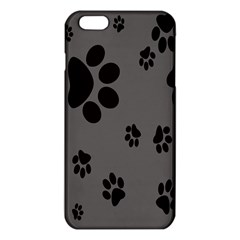 Dog Foodprint Paw Prints Seamless Background And Pattern Iphone 6 Plus/6s Plus Tpu Case