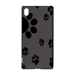 Dog Foodprint Paw Prints Seamless Background And Pattern Sony Xperia Z3+