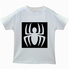 White Spider Kids White T Shirts