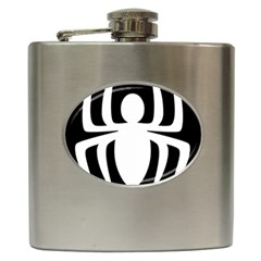 White Spider Hip Flask (6 oz)