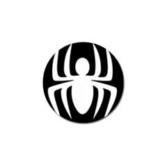 White Spider Golf Ball Marker (4 pack)