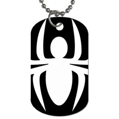 White Spider Dog Tag (Two Sides)