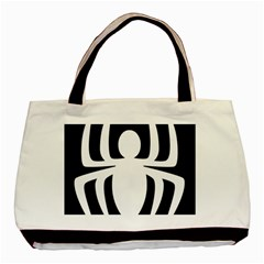 White Spider Basic Tote Bag