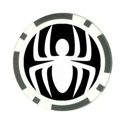 White Spider Poker Chip Card Guard