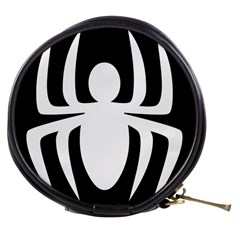 White Spider Mini Makeup Bags