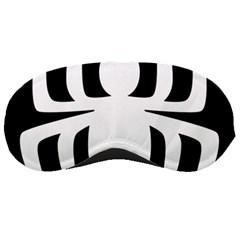 White Spider Sleeping Masks