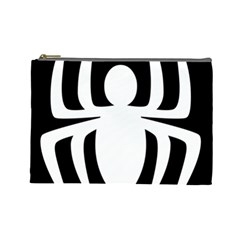 White Spider Cosmetic Bag (large)