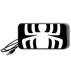 White Spider Portable Speaker (black)