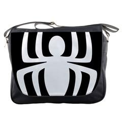 White Spider Messenger Bags