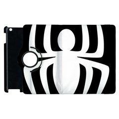 White Spider Apple Ipad 3/4 Flip 360 Case
