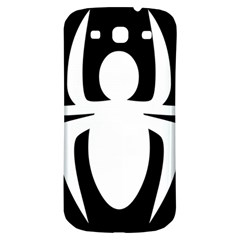 White Spider Samsung Galaxy S3 S III Classic Hardshell Back Case
