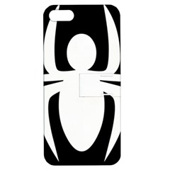 White Spider Apple Iphone 5 Hardshell Case With Stand