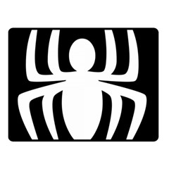 White Spider Double Sided Fleece Blanket (small)