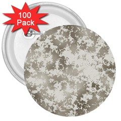 Wall Rock Pattern Structure Dirty 3  Buttons (100 Pack)