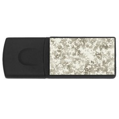 Wall Rock Pattern Structure Dirty USB Flash Drive Rectangular (1 GB)