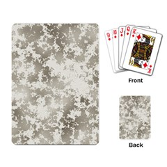 Wall Rock Pattern Structure Dirty Playing Card