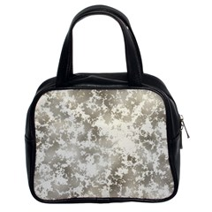 Wall Rock Pattern Structure Dirty Classic Handbags (2 Sides)
