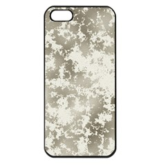Wall Rock Pattern Structure Dirty Apple Iphone 5 Seamless Case (black)
