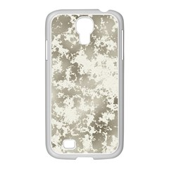 Wall Rock Pattern Structure Dirty Samsung GALAXY S4 I9500/ I9505 Case (White)