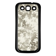 Wall Rock Pattern Structure Dirty Samsung Galaxy S3 Back Case (Black)