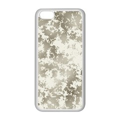 Wall Rock Pattern Structure Dirty Apple iPhone 5C Seamless Case (White)