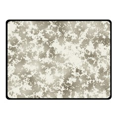 Wall Rock Pattern Structure Dirty Double Sided Fleece Blanket (Small)