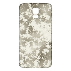 Wall Rock Pattern Structure Dirty Samsung Galaxy S5 Back Case (white)