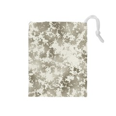 Wall Rock Pattern Structure Dirty Drawstring Pouches (Medium)