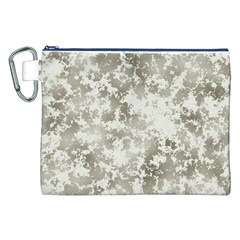 Wall Rock Pattern Structure Dirty Canvas Cosmetic Bag (xxl)