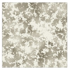 Wall Rock Pattern Structure Dirty Large Satin Scarf (Square)